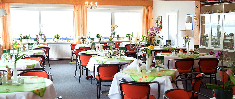 Hotel Diekseequell Speisesaal Orchidee